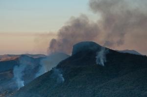 Incêndio na Cabeça do Leão - Serra do Papagaio