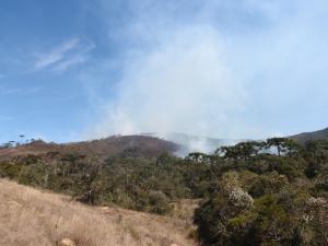 Incêndio no Pinheiral