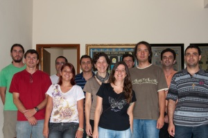 Encontro para treinamento de Técnicos do CER